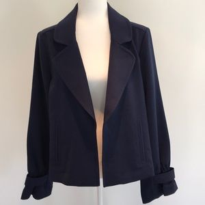 Banana Republic Factory navy jacket